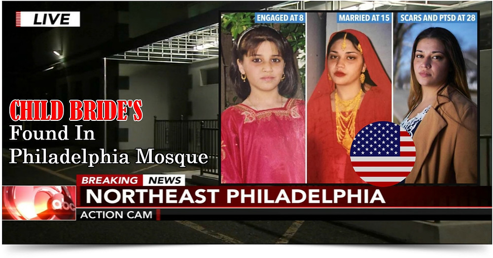 Islamic  Child Brides Grooming Gangs USA