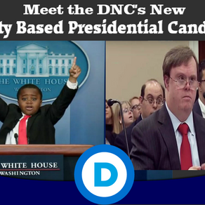 DNC's Daring New 2020 Strategy: Be First To Elect 10yo Black Child, Man With Down Syndrome As POTUS.