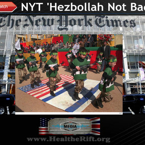 WATCH: New York Times States 'Hezbollah Terrorist's Not So Bad' They Like Christmas Too.