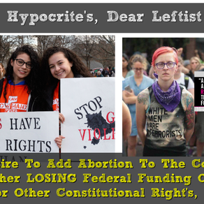 """PREMIER: """"Down The Liberal Rabbit Hole - Abortion As A Constitutional Right."""""""