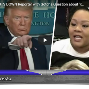 HA! Trump SHUTS DOWN Reporter with Gotcha Question about 'Kung Flu'
