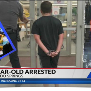 10 Year Old Boys Playing With Toy Guns In Front Yard Arrested, Charged With Felonies.