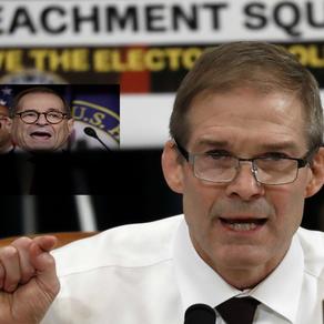 (video) Jim Jordan Lights Up Democrats: 'They're Never Gonna Stop'