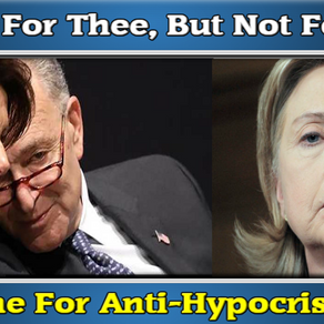 """It's Time We Pass 'Anti-Hypocrisy"""" Laws, Those Governing Need To Live The Laws They Force On America"""
