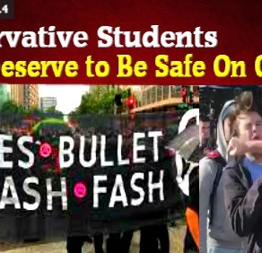 Liberal Insanity pt.4: 'Conservatives Don't Deserve To Be Safe On Campus' Professors, Newspaper Say.