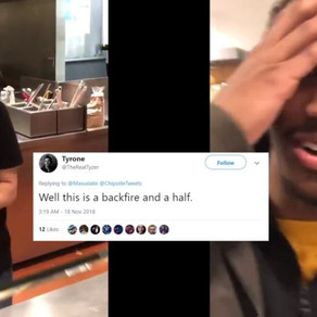 """WATCH: Chipotle manager fired after Twitter mob cries """"racism"""""""