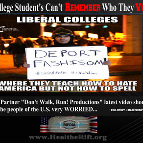 WATCH: Liberal College Student Activist's Can't Remember Who They Voted For! - Media Partner