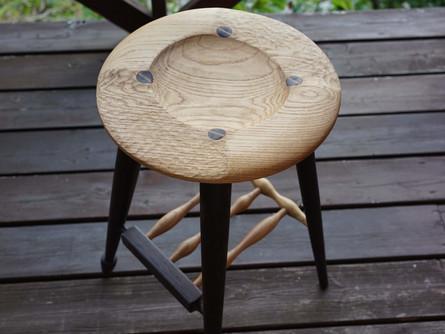 a stool完成!
