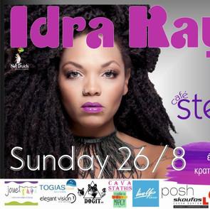 Poster for Mrs. Idra Kayne live gig summer 2018