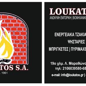 Business card for Loukatos S.A.