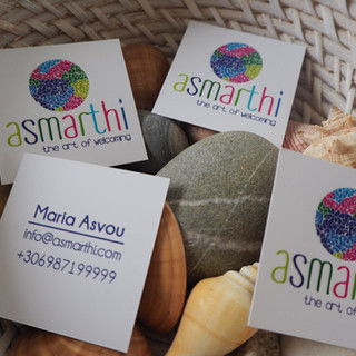 Business card for Asmarthi company