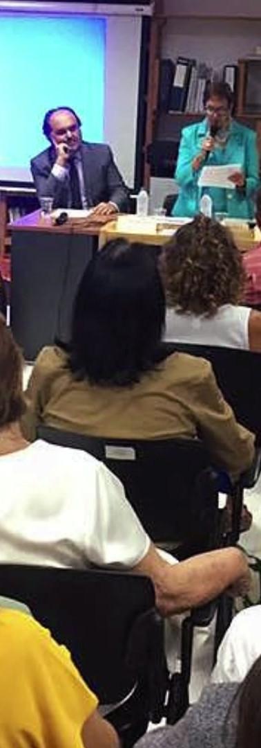 Book presentation, October 2019