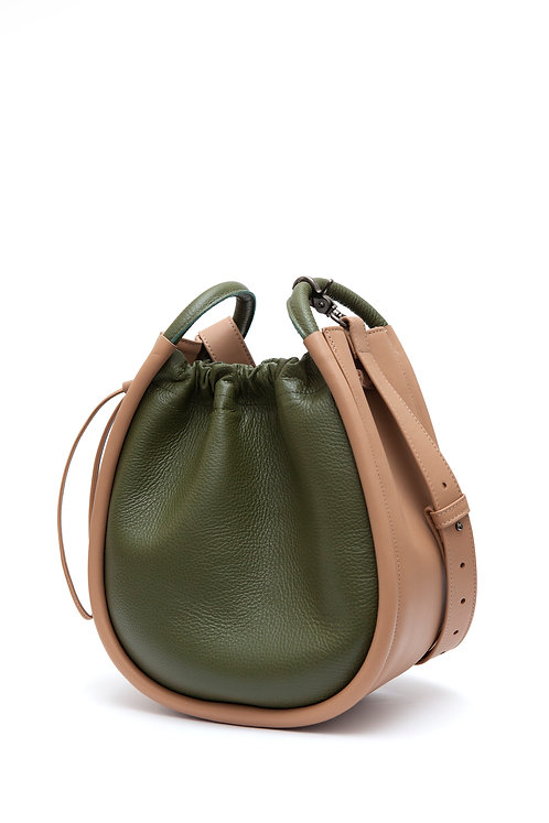 Malvinia Light Brown / Olive Green