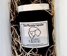 Surrey Placentas Raw Capsules in bag