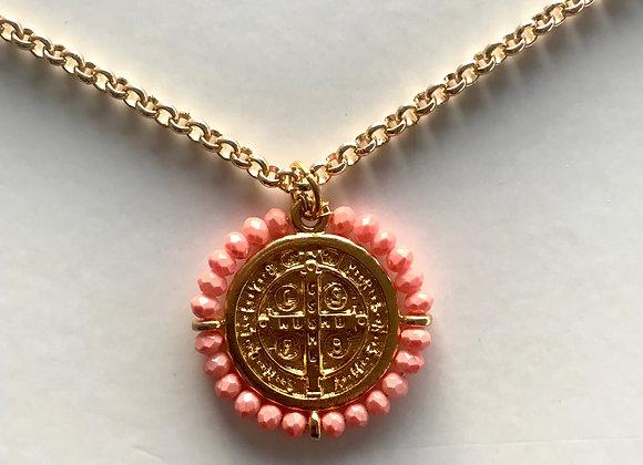 Medalla San Benito Coral