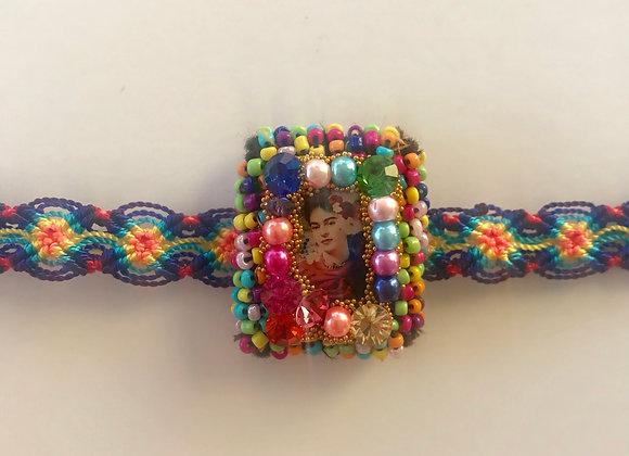 Pulsera Frida cuadrada colores