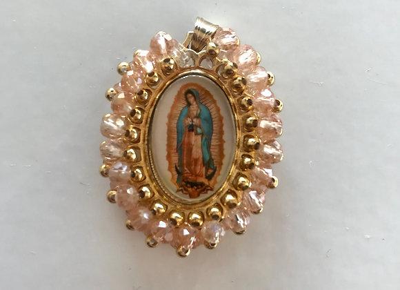 Medalla Virgen de Guadalupe pequeña