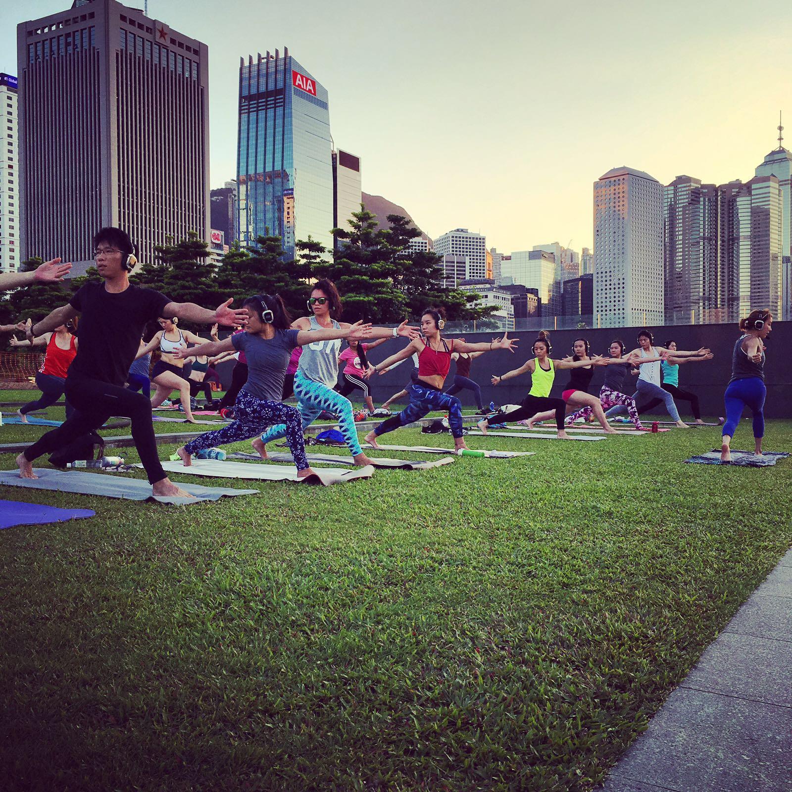 Sunset SoundOff Yoga - 7/24