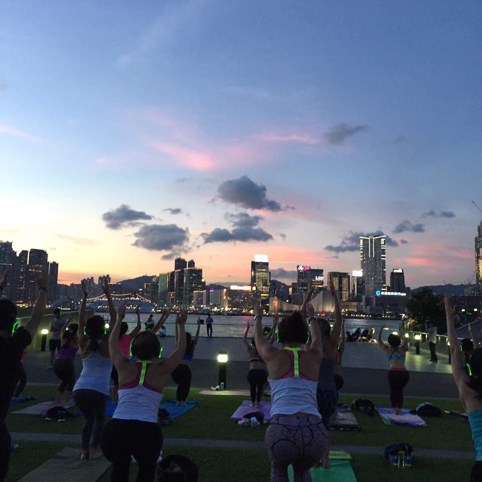 Sunset SoundOff Yoga - 6/21