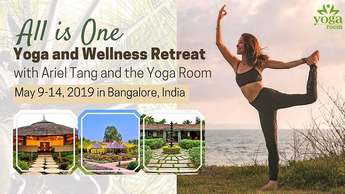 India Yoga & Wellness Retreat with Ariel Tang