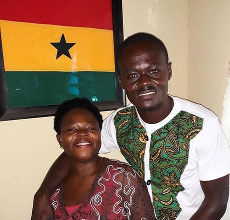Ernest & Mavis Ofori - Our Team