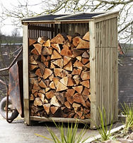 External log stores for your wood burning stove