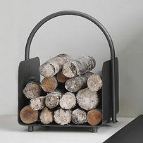 Wood Burning Stove Log Store