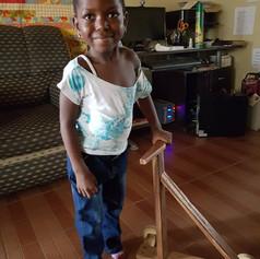 Joyce - Three years old