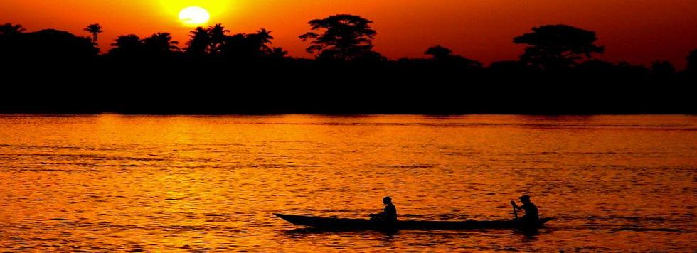 A Ghana sunset