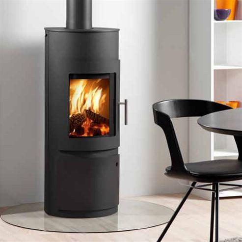 Westfire Uniq15 with Log Door