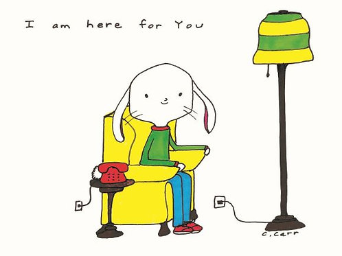 53 - I am here for you