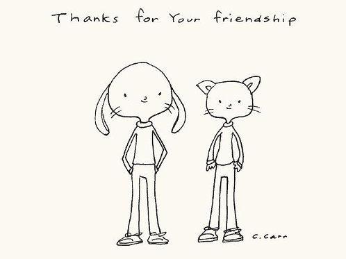 8 - Thanks for your friendship