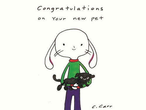 33 - Congratulations on your new pet