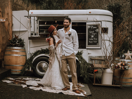 A Styled Winter Elopement at Archer Farms