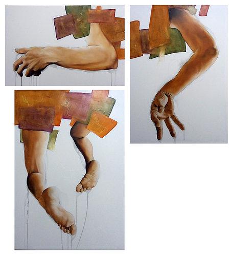 La fuga - Mauro Molle - FMB Art Gallery