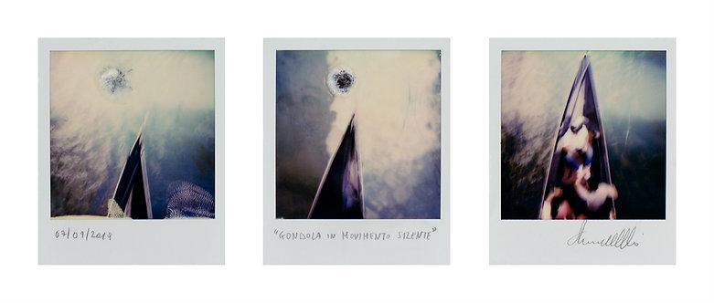 Gondola in movimento silente - Ernesto Notarantonio - FMB Art Gallery