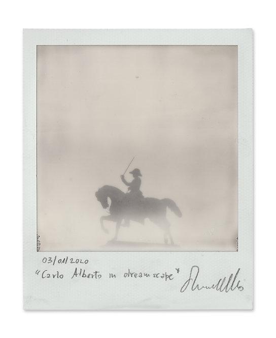 Carlo Alberto in dreamscape - Ernesto Notarantonio - FMB Art Gallery