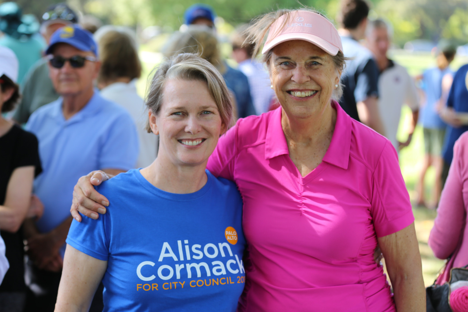 Alison Cormack and Betsy Bechtel