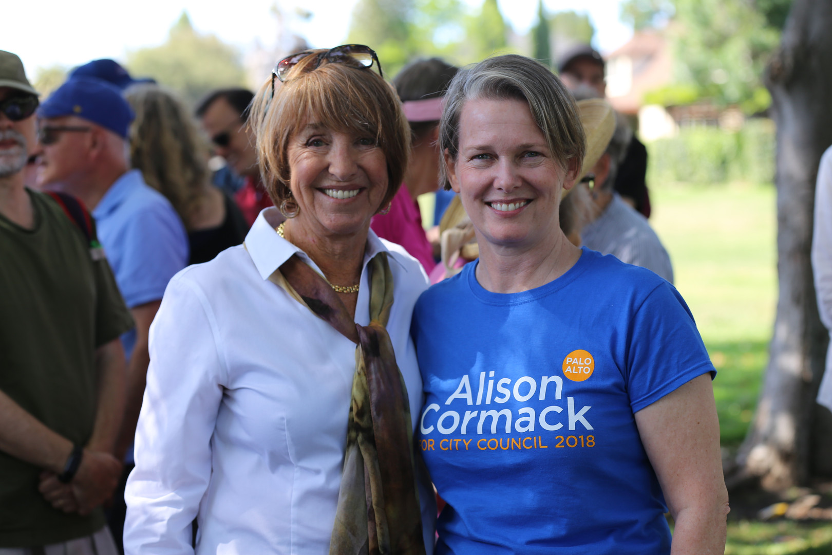 Liz Kniss and Alison Cormack
