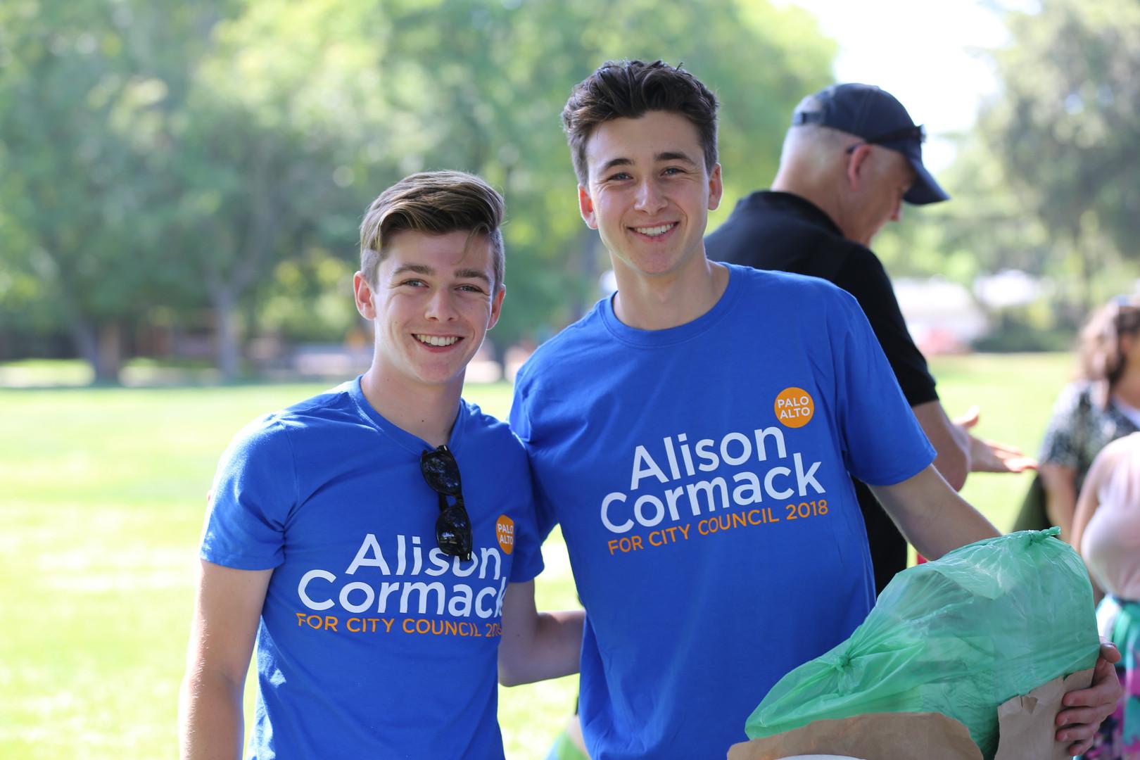 Teen Campaign Interns