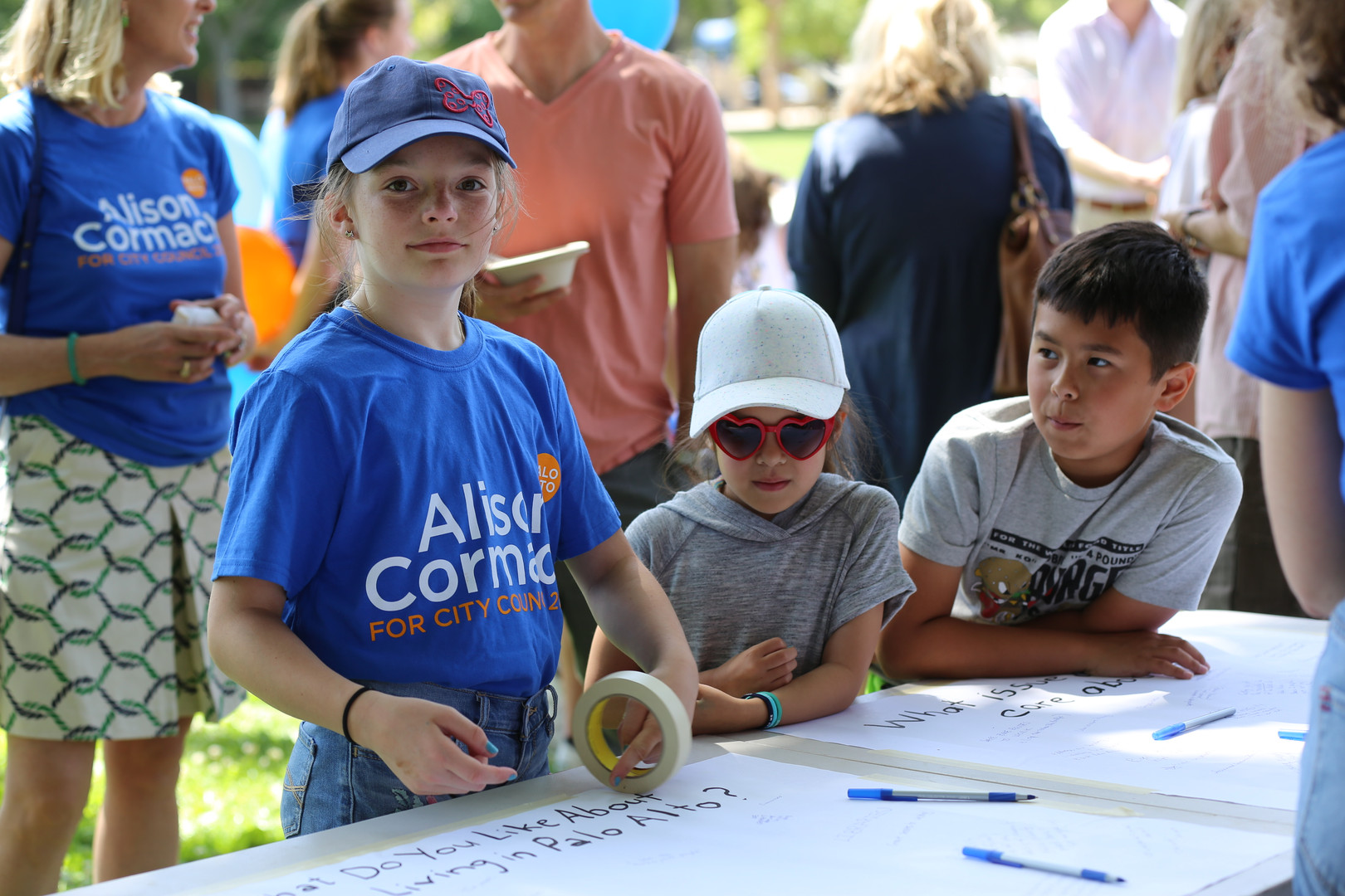 Young guests share why they love Palo Alto