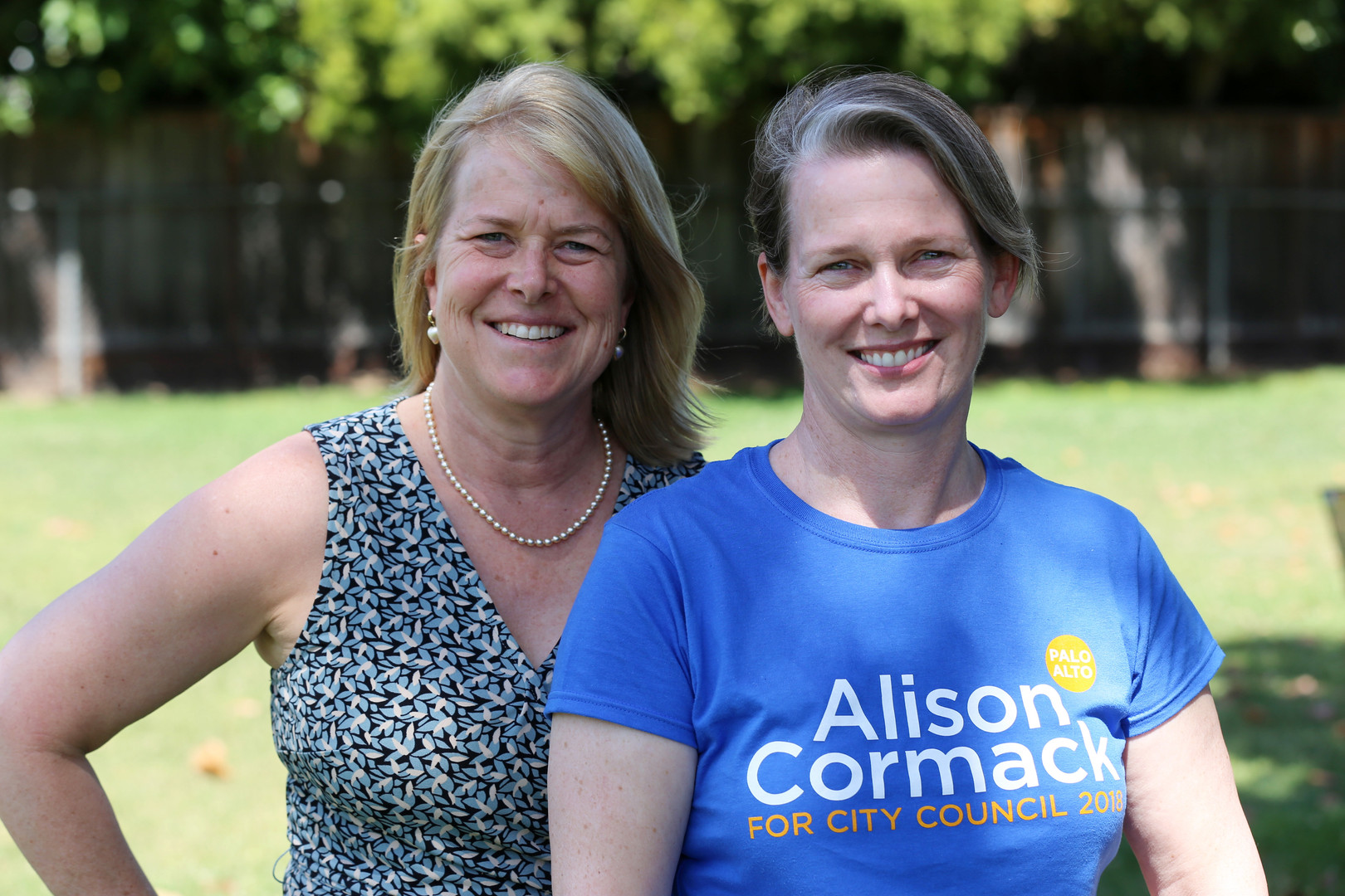 Megan Fogarty and Alison Cormack