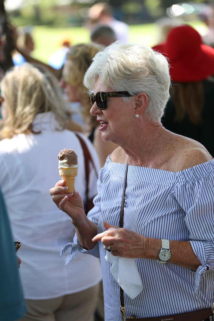 Everything is better with ice cream