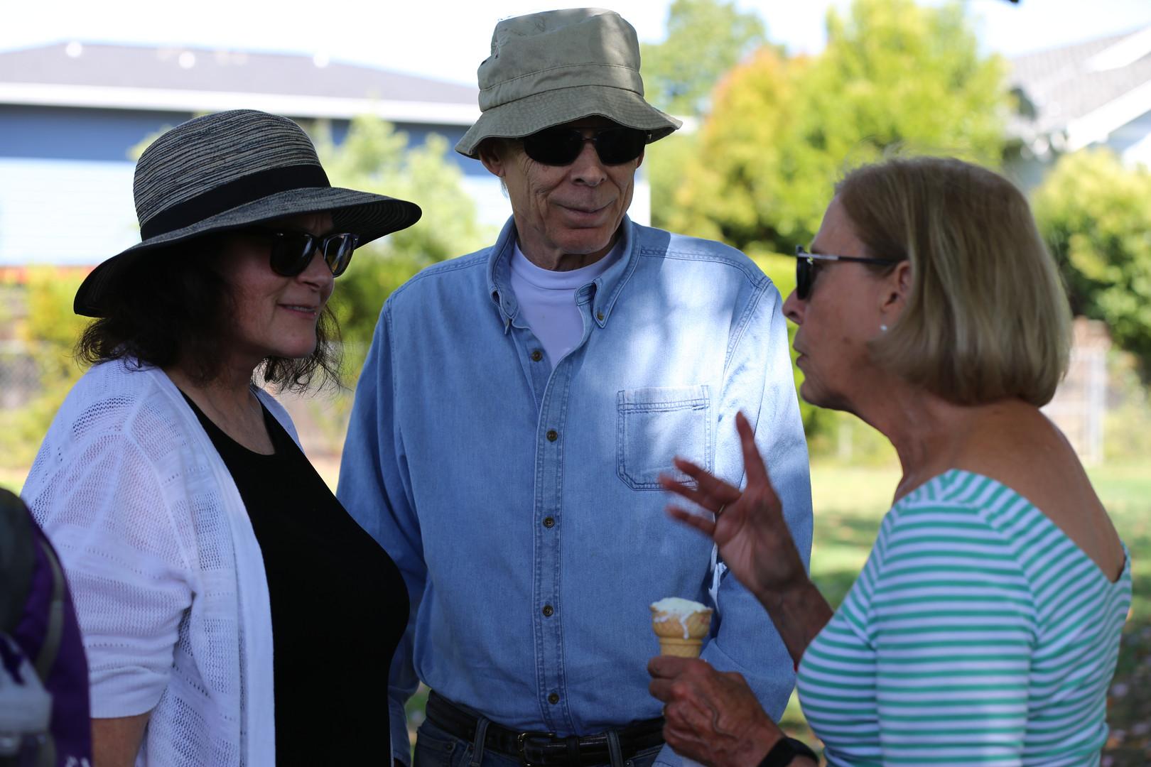 Neighbors gather for Alison Cormack
