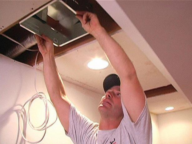 Exhaust Fan install