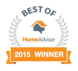 Home Advisor 2015 Winner Logo