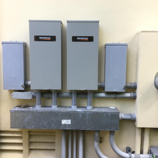 Dual Generac Transfer Switches