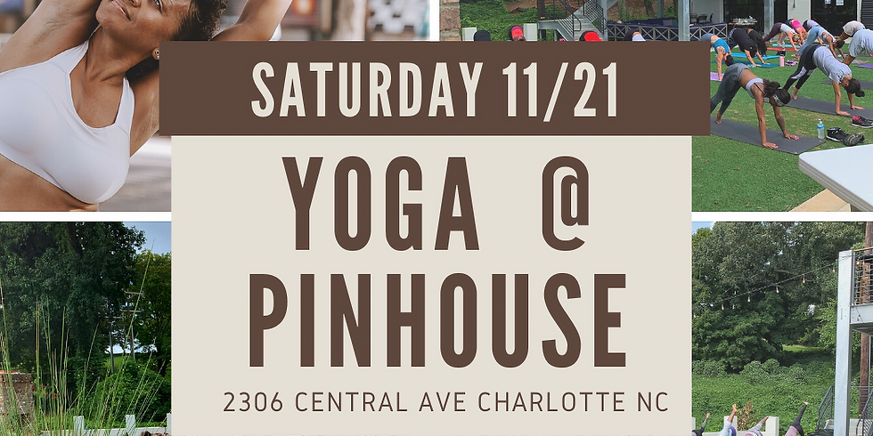 Yoga @ the Pinhouse