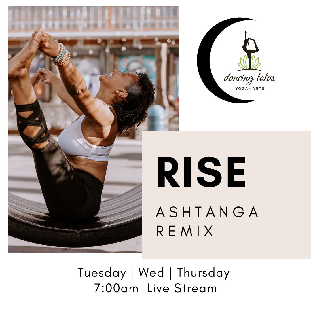 RISE Ashtanga-Remix Yoga (Zoom)