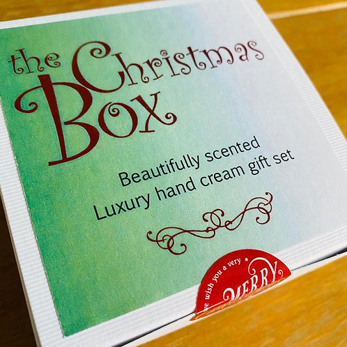 the Christmas Box - hand cream Collection